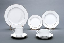 Rim Dinnerware Platinum Bands