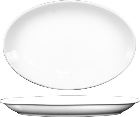 "ITI DO-12 Coupe Platter 10 1/4"" x 8"""