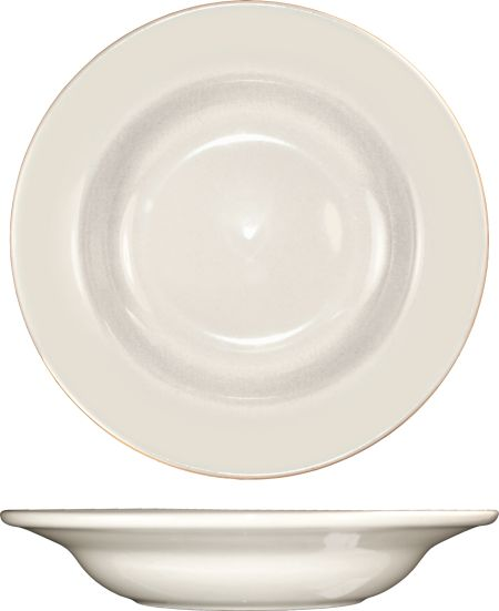 "ITI RO-3 Bowl, Rim Deep Soup         8 3/4"" 12 oz"