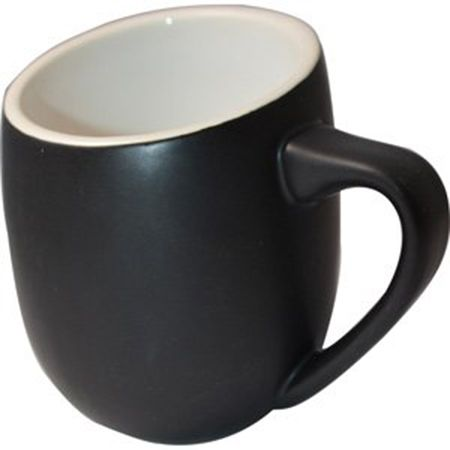DCOF16BL  MUG BLACK 16 OZ