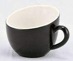OFF07BL OFFERO TEA CUP BLACK 7 OZ