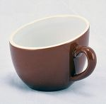 OFF07BR OFFERO TEA CUP BROWN 7 OZ