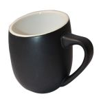 DCOF12BL  MUG BLACK 12 OZ