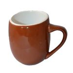 OFF12BR OFFERO MUG BROWN 12 OZ
