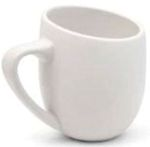 OFF12WH-L OFFERO MUG WHITE - LEFT HAND 12 OZ