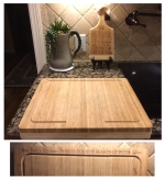 Over The Edge Cutting Board - Bambo 17-5/8