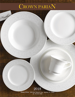 Dallas China Dinnerware Catalog
